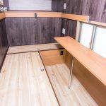 「L型ボックス椅子」×「L型ボックス椅子用テーブル」