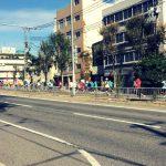 今年最後の神戸展示会は神戸マラソンと同日でした